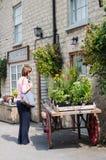 Village Store - Village Shop - Hovingham - North Yorkshire - UK Royalty Free Stock Photos