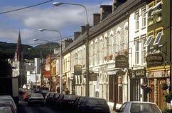 Village storefronts, Cork, Ireland Royalty Free Stock Images