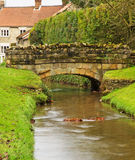 A Village Stream Stock Photography