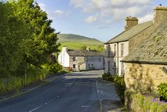 Village Street Stock Images