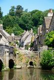 Village street, Castle Combe. Stock Image