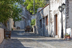 Village street of Krasi Royalty Free Stock Image