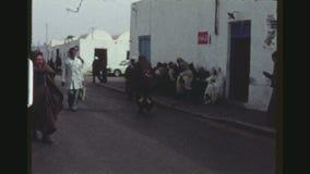 Village Street Scene Seventies