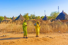 Village in Sudan Royalty Free Stock Image