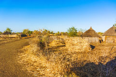 Village in Sudan Stock Photo