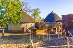 Village in Sudan Royalty Free Stock Photo