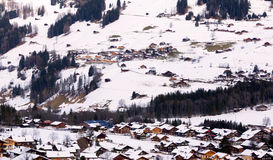 Village in suisse Stock Photo