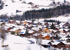Village in suisse Royalty Free Stock Photography