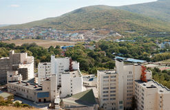 Village Sukko in the Krasnodar territory. Russia Royalty Free Stock Image