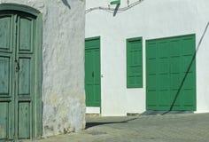Village sur Lanzarote no.1 Image libre de droits