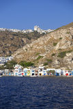 Village sur Milos Island, Grèce image libre de droits