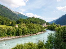 Village of Susch stock images