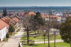 Village Svaty Jur, Slovakia Royalty Free Stock Image