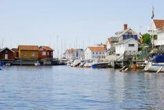 Village on the Swedish west coast Royalty Free Stock Image