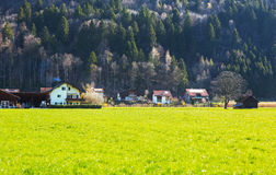 Village in Switzerland Stock Photography