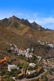 Village Taganana in Tenerife island - Canary Stock Image