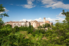 The Village of Talamello, Italy Royalty Free Stock Photo
