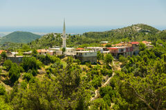 The village is in the Taurus Mountains. Turkey. Royalty Free Stock Images