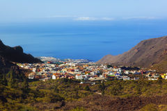 Village in Tenerife island - Canary Stock Photography