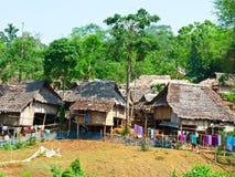 Village thaï Photos stock
