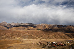 Village tibétain photos libres de droits