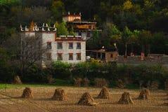 Village tibétain Image stock