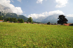 Village in Tirol Royalty Free Stock Images
