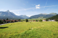 Village in Tirol Royalty Free Stock Photography