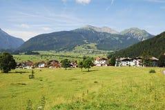 Village in Tirol Stock Photo