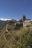 Village of Tirvia, Pallars Sobira, Lleida provine, Catalonia,Spa Royalty Free Stock Photo