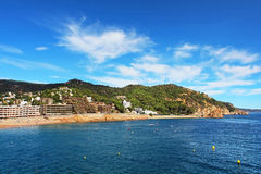 Village Tossa de Mar. Costa Brava Royalty Free Stock Image
