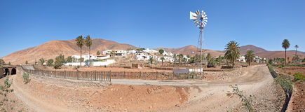 The village Toto in Fuerteventura Stock Photos