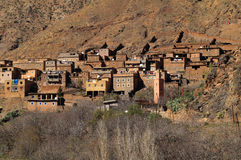 Village Toubkal National Park Stock Images