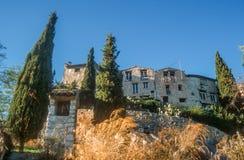 The village of Tourettes-sur-Loup Stock Photo