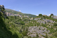 Village of Tourrettes-sur-Loup in France Stock Photography