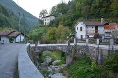 Village, Town, Mountain Village, Mountain Range royalty free stock photos