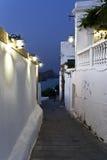 village traditionnel de la Grèce Rhodes images stock