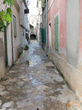 Village traditionnel en Croatie Photographie stock