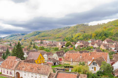 Village in Transilvania Stock Photos