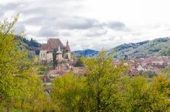 Village in Transilvania Stock Photo
