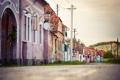 Village in transsylvania Romania Royalty Free Stock Image