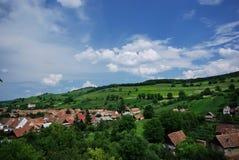 Village in Transylvania Stock Image