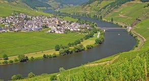 Village Trittenheim,Mosel,Germany Stock Image