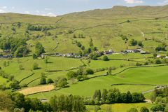 Village of Troutbeck Royalty Free Stock Photography
