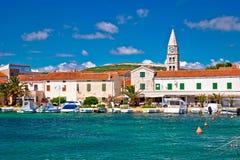 Village of Turanj waterfront view Royalty Free Stock Photos
