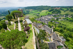 Village of Turenne Stock Image