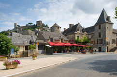 Village of Turenne Royalty Free Stock Photos