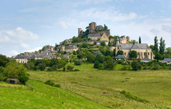 Village of Turenne Stock Photography