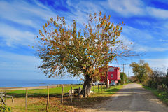 Village in Turkey. Scenery from village in Ordu, Black Sea region, Turkey Royalty Free Stock Photography