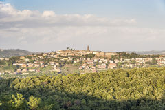 Village Tuscany Royalty Free Stock Photography